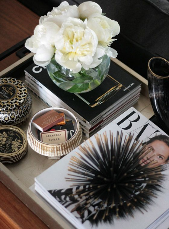coffee table decor styling 5