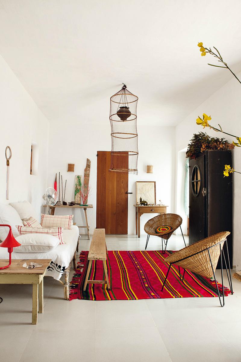 Bohemian Chic Interior: A Private Paradise In Ibiza