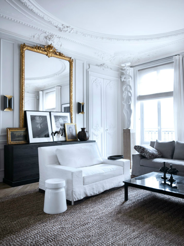 Gorgeous modern french interiors 40 pics decoholic for Arredamento stile parigino