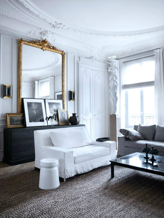 Modern French Contemporary Parisian Interiors 9 10