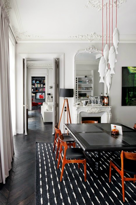 Modern French contemporary parisian Interiors 14