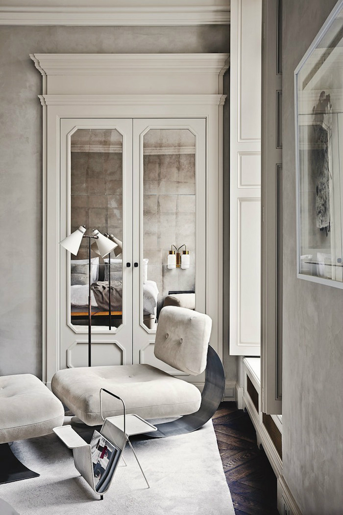 gorgeous modern french interiors 40 pics decoholic. Black Bedroom Furniture Sets. Home Design Ideas