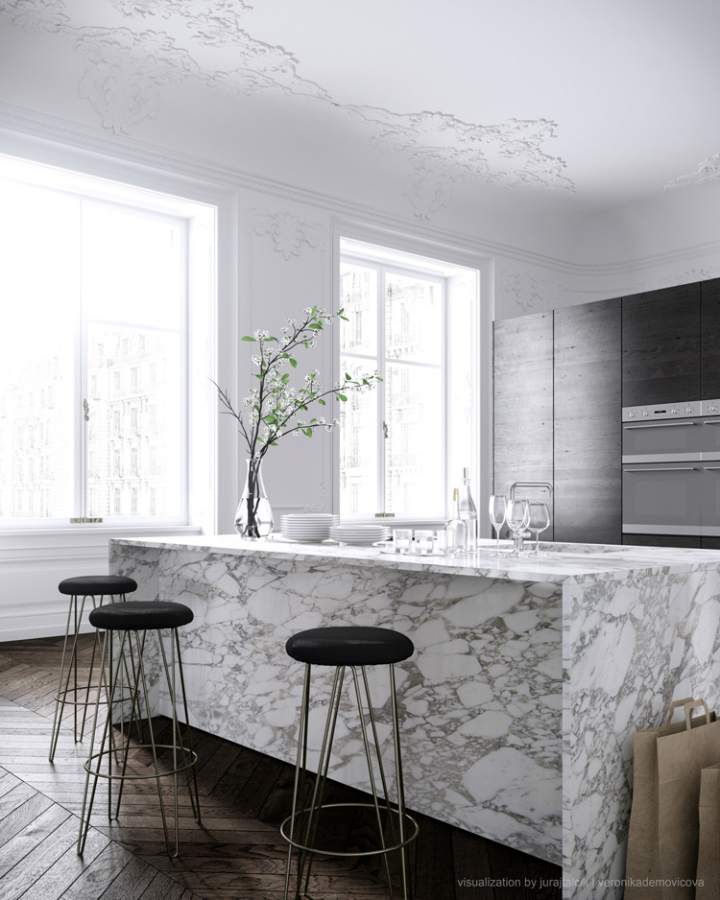 ... Modern French Contemporary Parisian Interiors 24