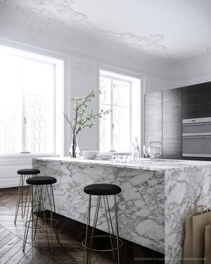 Modern French Contemporary Parisian Interiors 24