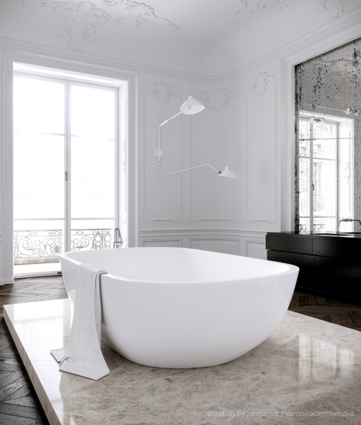 Modern French contemporary parisian Interiors 31