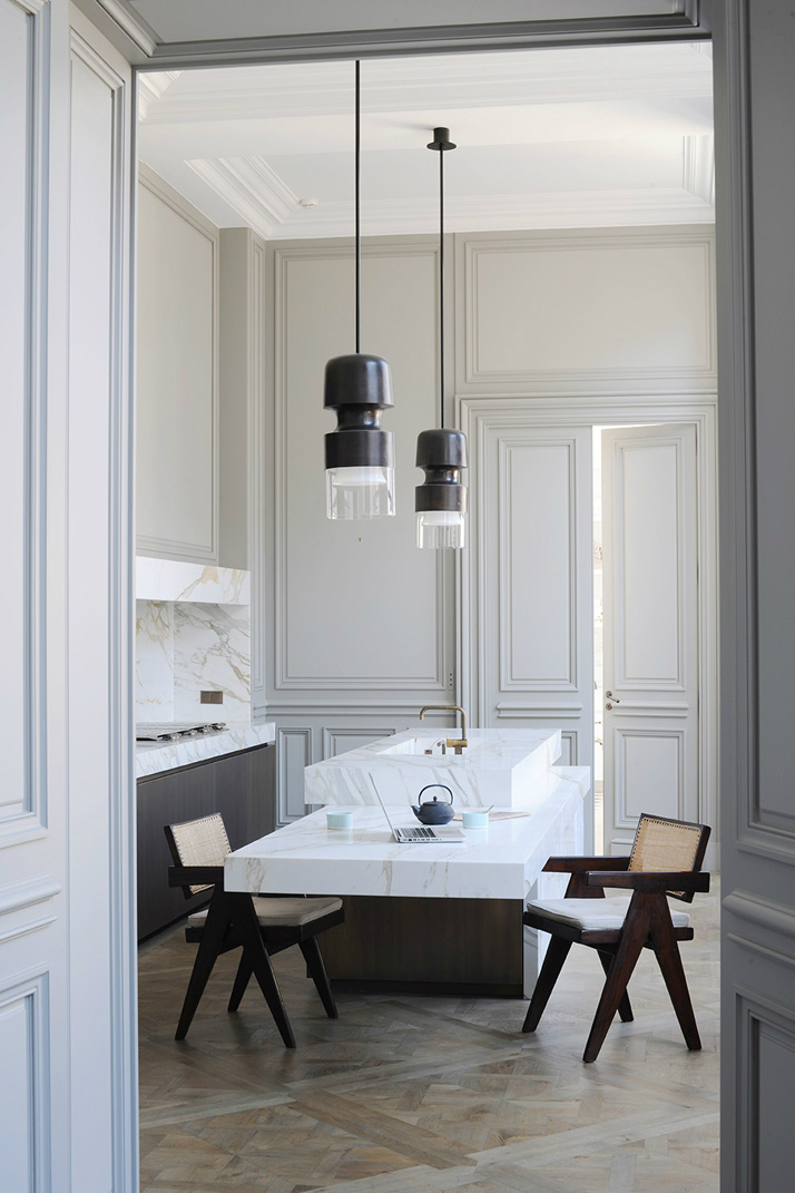 Modern Classic Interior Design: Gorgeous Modern French Interiors (40 Pics)