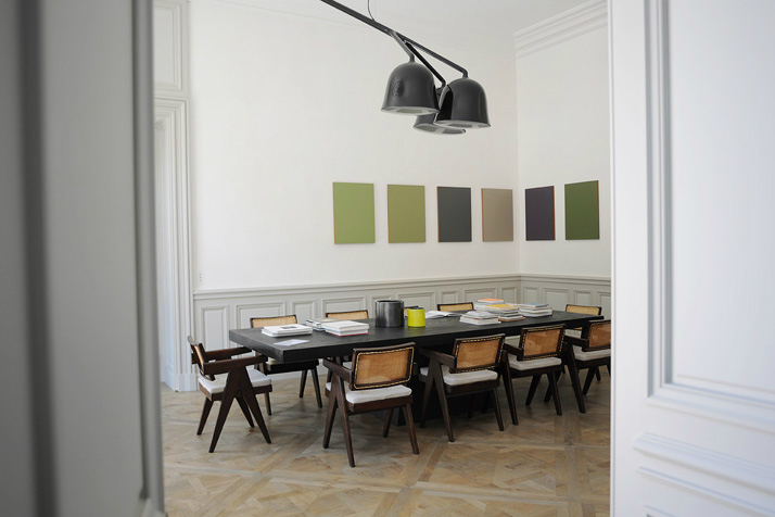 big dining table and chairs