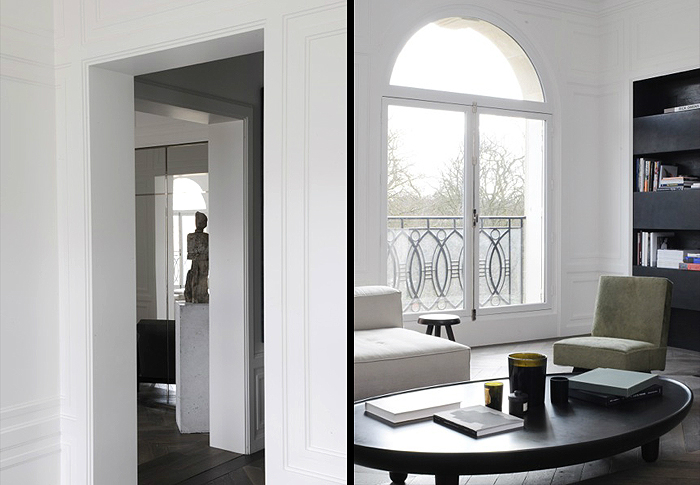 Modern French contemporary parisian Interiors 39