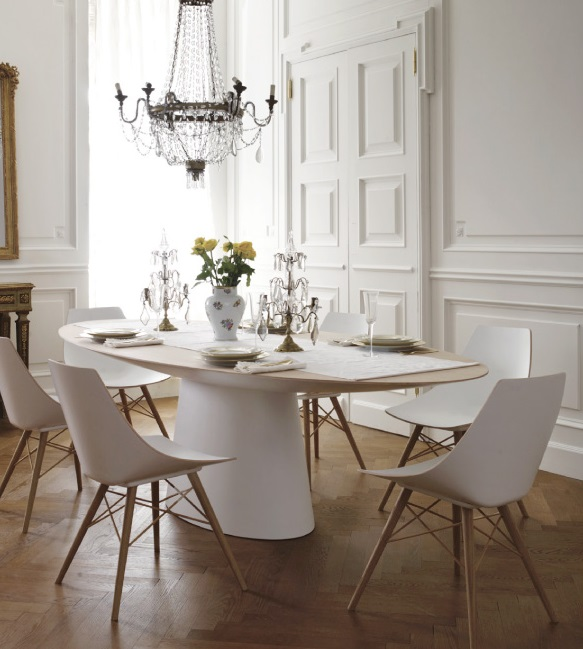 Elegant Modern French Dining Room ...