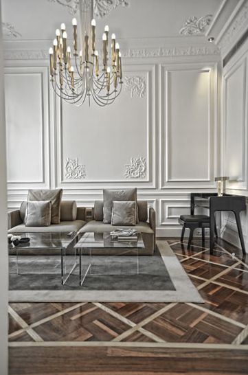 modern french living room 43