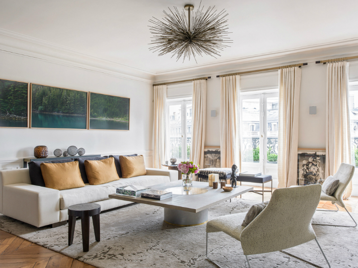 Modern French contemporary parisian Interiors 5