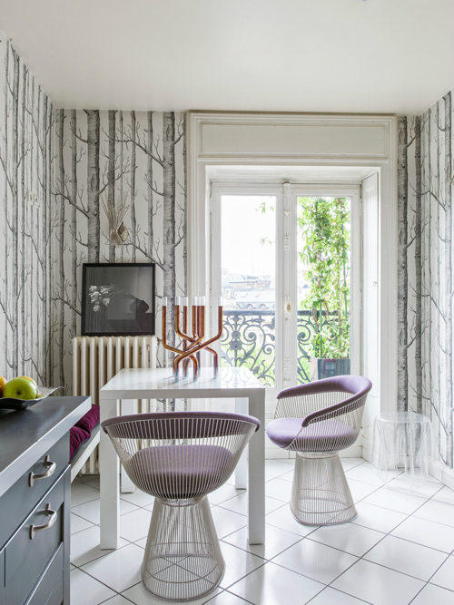 Modern French contemporary parisian Interiors 6