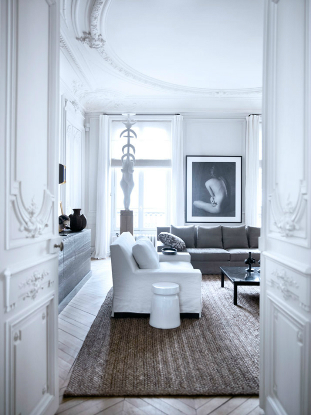 Modern French contemporary parisian Interiors 9