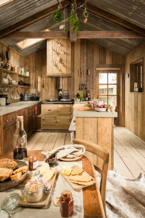 A Rustic Charm Cabin 8