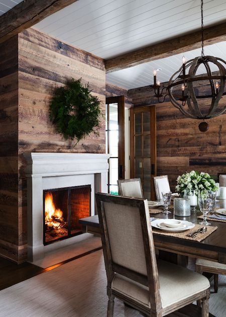 Rustic Dining Room Idea 2