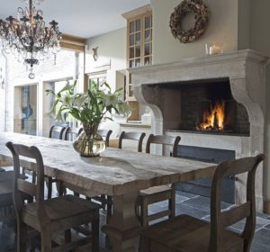 Rustic Dining Room Idea