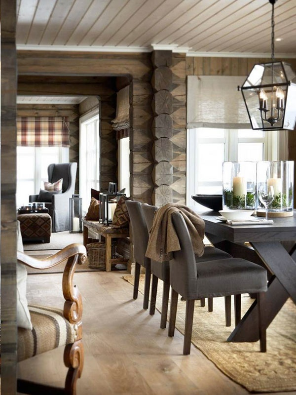 12 rustic dining room ideas decoholic. Black Bedroom Furniture Sets. Home Design Ideas