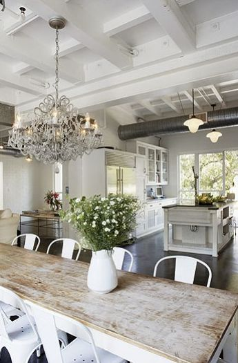 rustic dining room idea 6