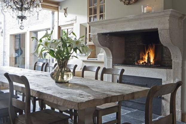 Rustic Dining Room Idea