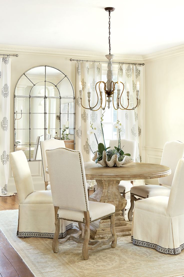 Gallery For Rustic Chic Dining Room