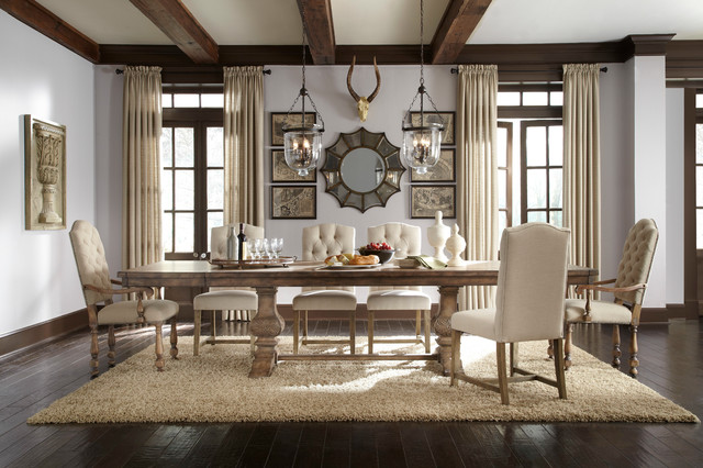 Charmant Rustic Dining Room Idea 8