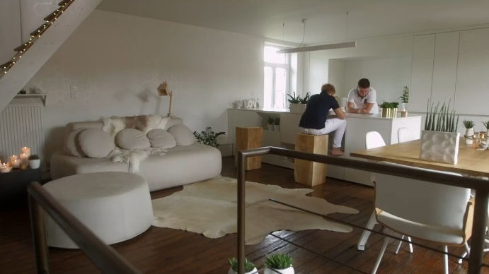 Small White Yet Cozy Family Home 10