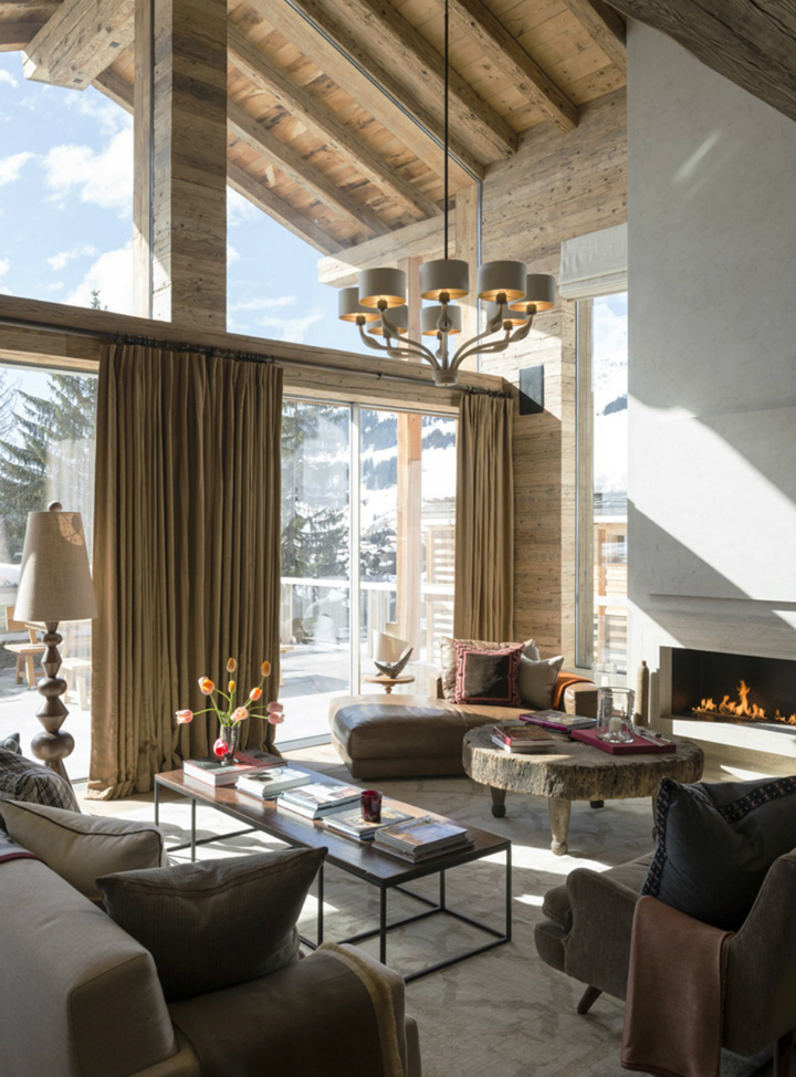stylish contemporary chalet with attention to detail 3
