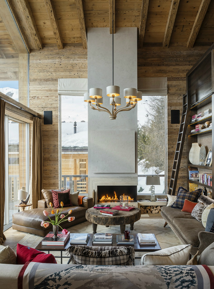 stylish contemporary chalet with attention to detail