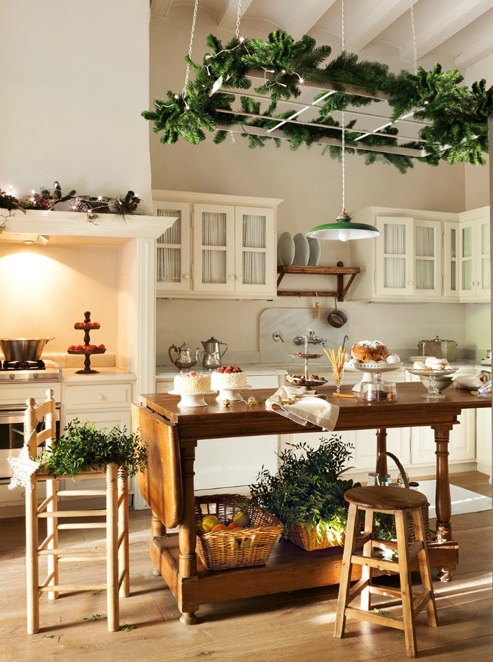 white christmas home decor idea 12