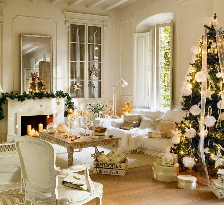 white christmas home decor idea 2