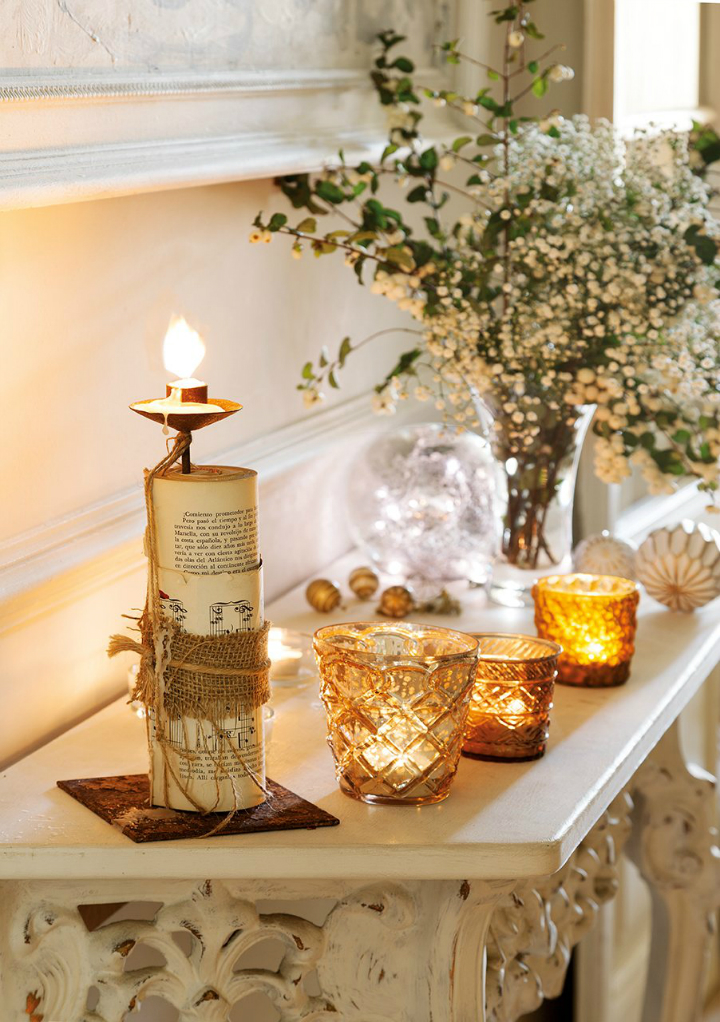 white christmas home decor idea 7