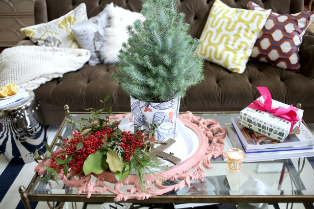 Eclectic Christmas Coffee Table