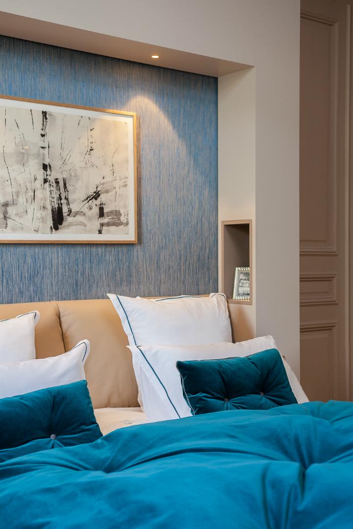 elegant and dramatic interior design ideas by Gerard Faivre Paris 19