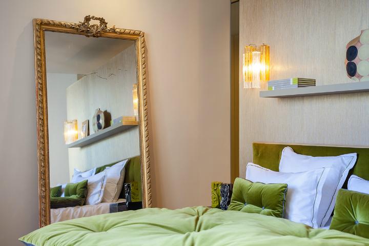 elegant and dramatic interior design ideas by Gerard Faivre Paris 25
