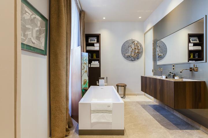 elegant and dramatic interior design ideas by Gerard Faivre Paris 28