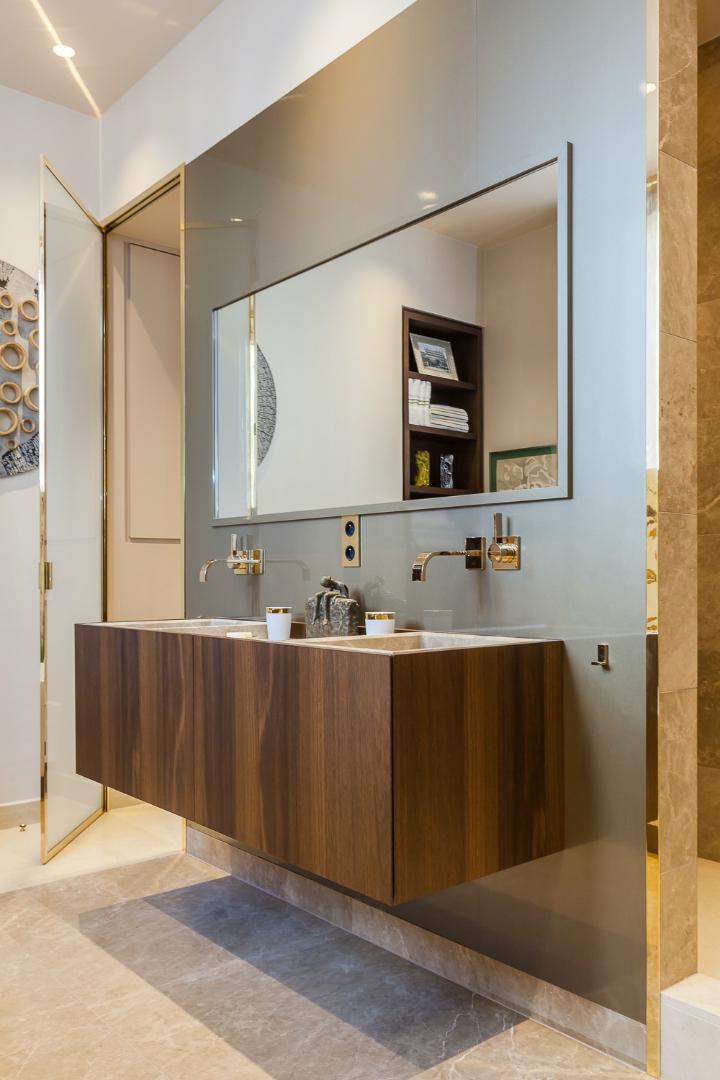 elegant and dramatic interior design ideas by Gerard Faivre Paris 29