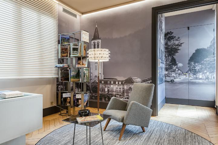 elegant and dramatic interior design ideas by Gerard Faivre Paris 3