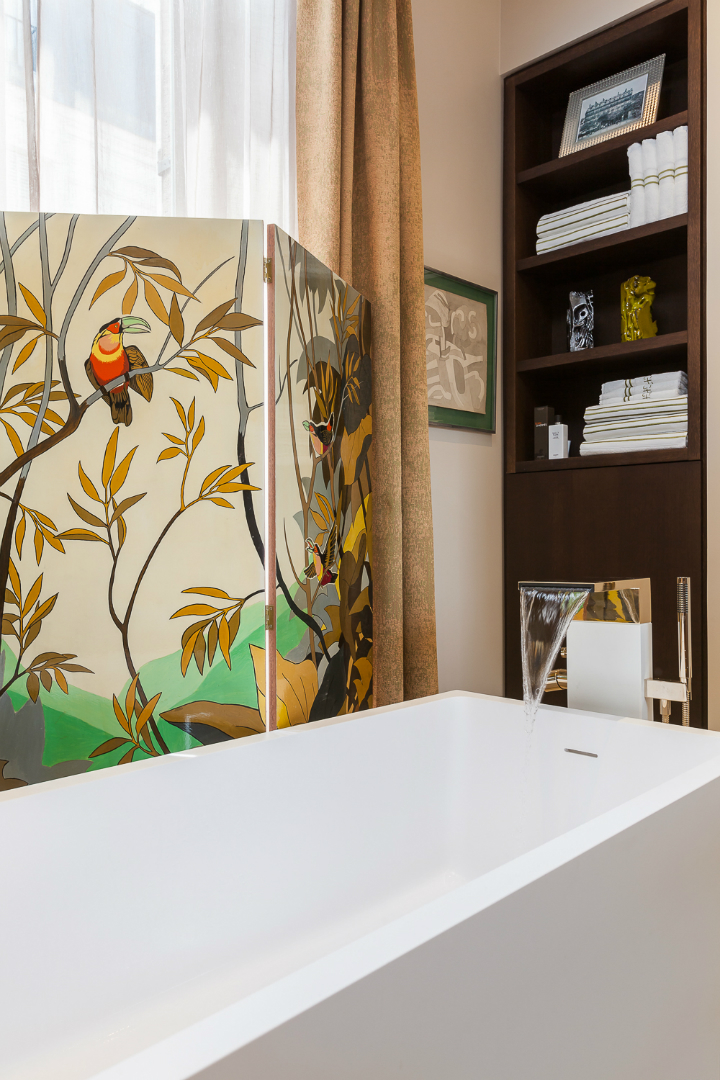 elegant and dramatic interior design ideas by Gerard Faivre Paris 31