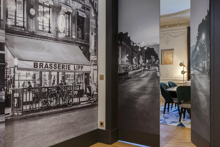 elegant and dramatic interior design ideas by Gerard Faivre Paris 4