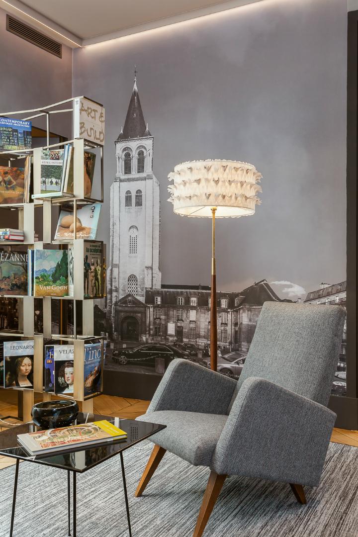 elegant and dramatic interior design ideas by Gerard Faivre Paris 5