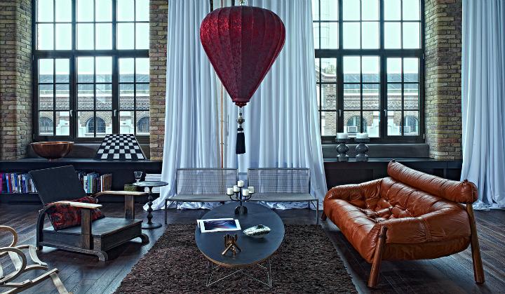 artistic loft interior by A+Z Design Studio 10