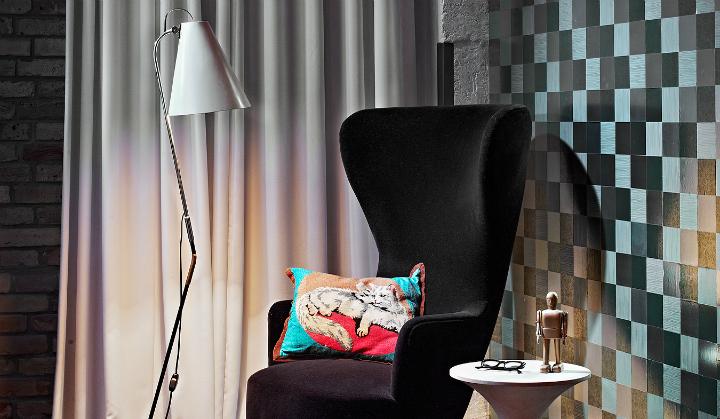 artistic loft interior by A+Z Design Studio 11