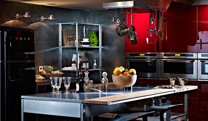 artistic loft interior by A+Z Design Studio
