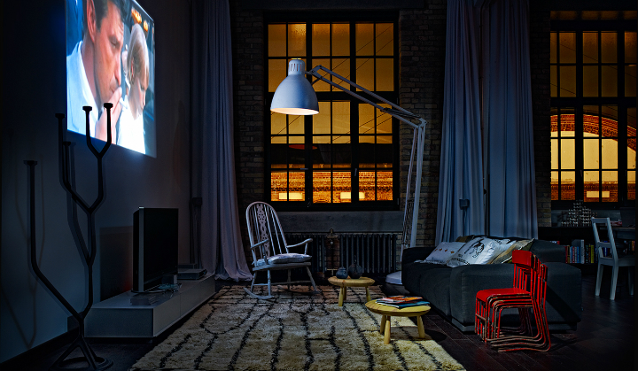 artistic loft interior by A+Z Design Studio 3