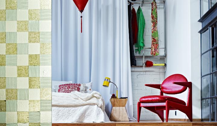 artistic loft interior by A+Z Design Studio 7