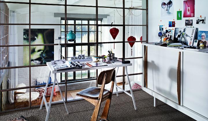 artistic loft interior by A+Z Design Studio 8