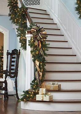 Glamour Christmas Staircase
