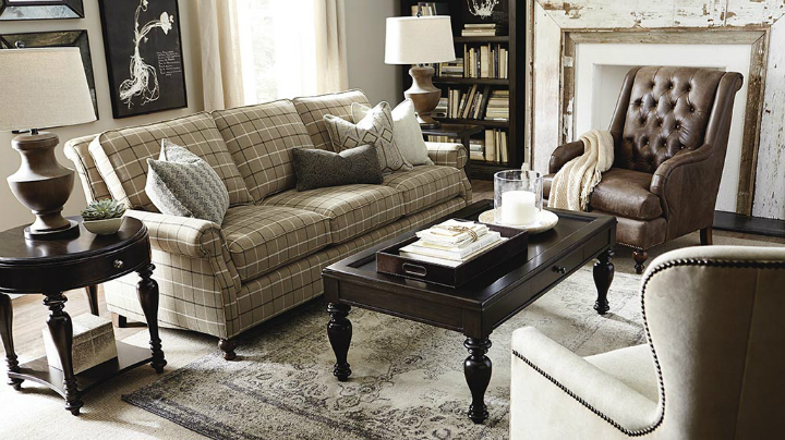 sable beige brown Real Living Room Idea