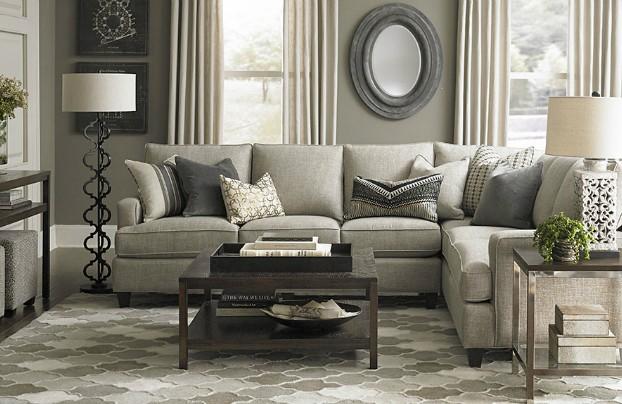 charcoal gray Real Living Room Idea