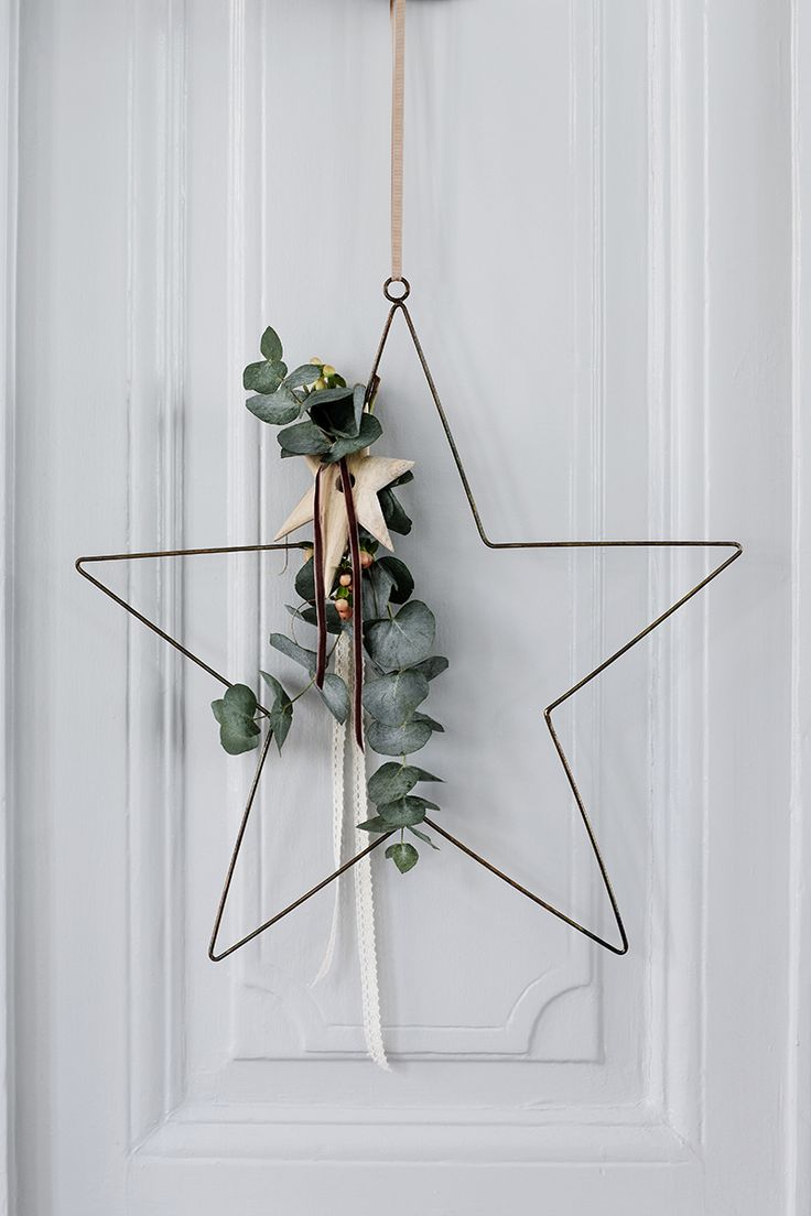 Scandinavian Christmas Front Door